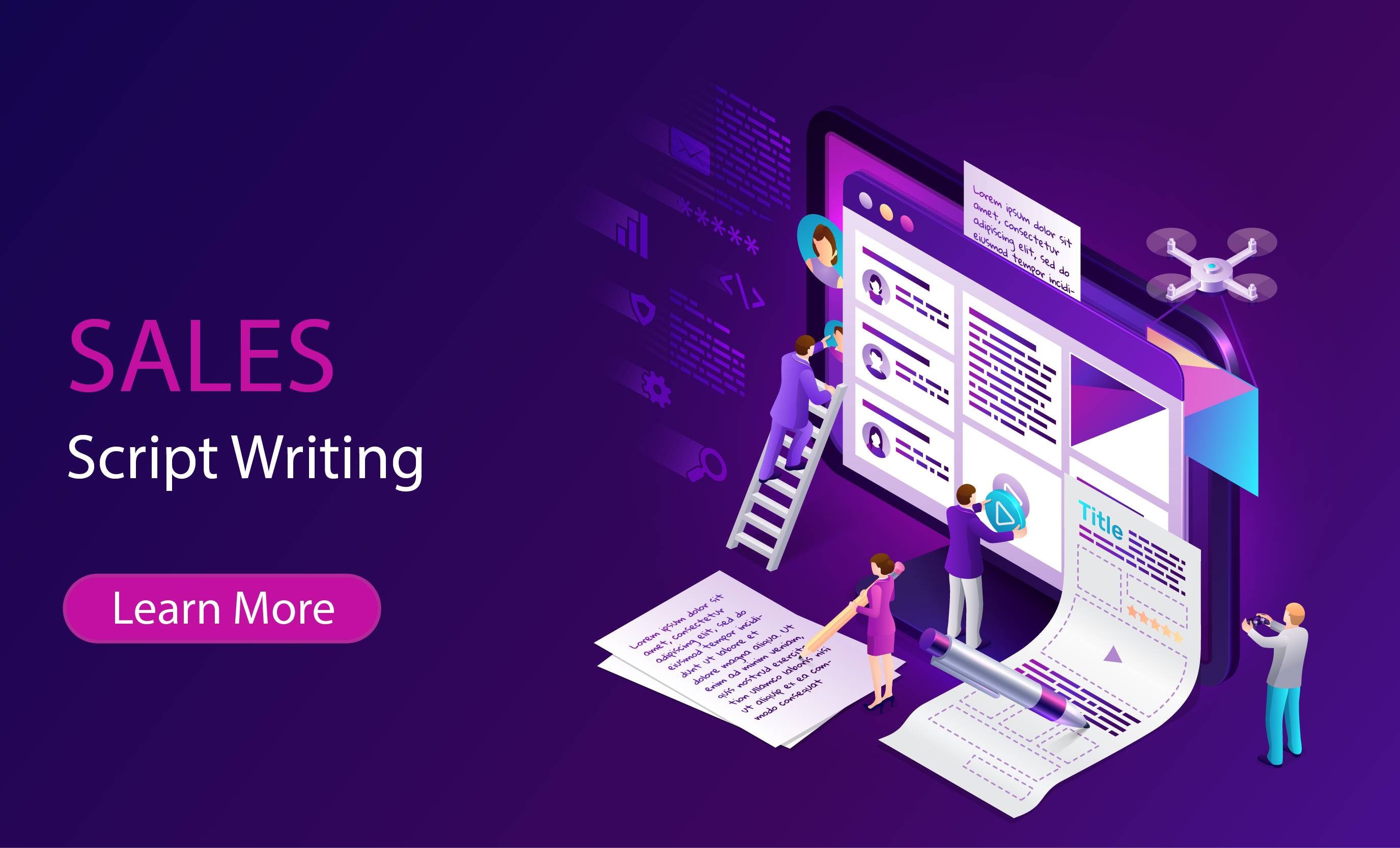 Sales Script Writing